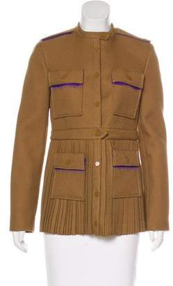 Marco De Vincenzo Pleated Casual Jacket