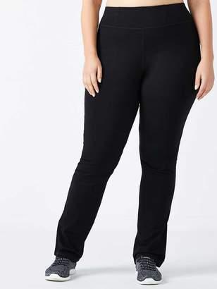 Petite - Plus-Size Basic Yoga Pant