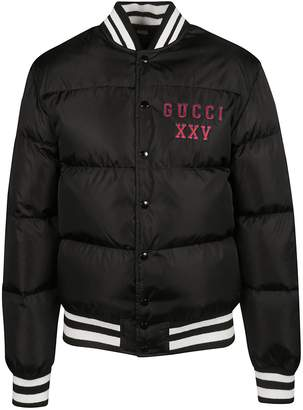 Gucci Embroidered Padded Bomber