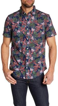 WALLIN & BROS Tropical Short Sleeve Regular Fit Shirt