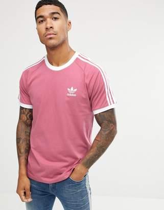 adidas California T-Shirt In Pink