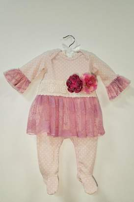 Haute Baby Avery Grace Skirted Footie