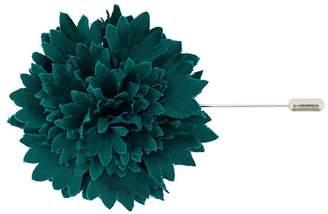Lanvin flower brooch