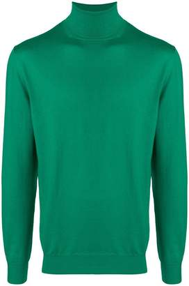 Cruciani turtleneck fine knit sweater