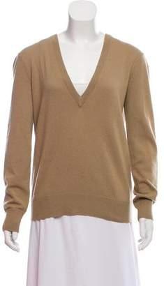 Michael Kors Long Sleeve V-Neck Sweater