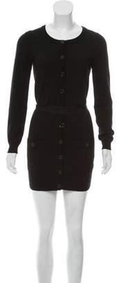 Marc Jacobs Wool Button-Up Dress