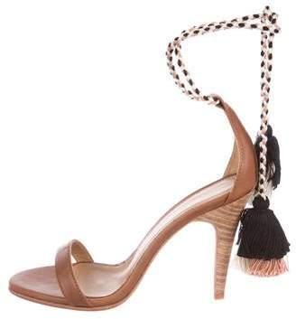 Ulla Johnson Leather Wrap-Around Sandals