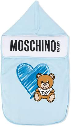 Moschino Kids baby boy sleeping bag