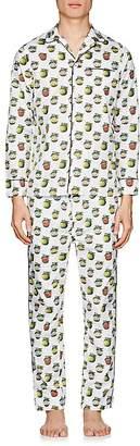 Maison Marcy Men's Magritte Cotton Slim Pajama Set
