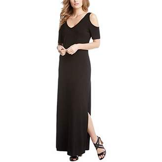 Karen Kane Women's Cold Shoulder Maxi Dress