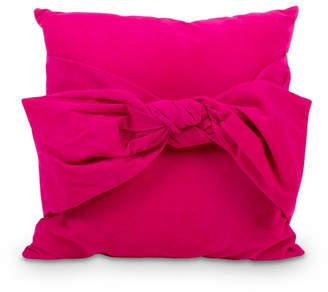 Velvet Bow Pillow