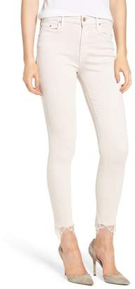 Mother The Looker Dagger High Waist Ankle Skinny Jeans