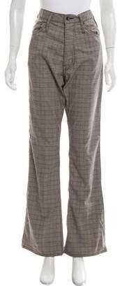 LGB Plaid High-Rise Pants w/ Tags