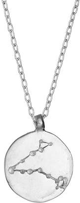 Chupi - Pisces We Are All Made Of Stars Star Sign Necklace in Silver
