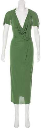 Roland Mouret Short Sleeve Maxi Dress