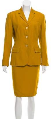 Jean Paul Gaultier Wool Skirt Suit