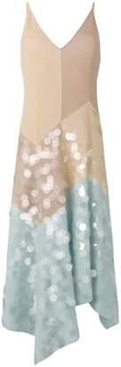 Bottega Veneta multicolour cotton dress