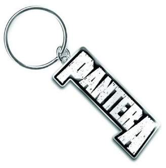 Pantera Keyring Keychain band Logo vulgar display new Official metal