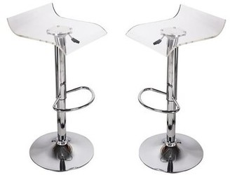 clear Orren Ellis Dall Adjustable Height Bar Stool Orren Ellis