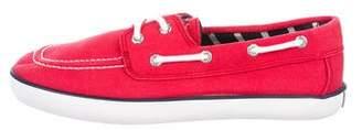 Polo Ralph Lauren Round-Toe Low-Top Sneakers