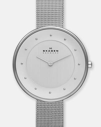 Skagen Gitte Silver-Tone Analogue Watch