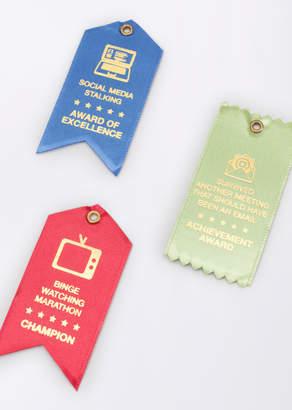 Design Ideas Award Ribbon Magnet   Wildfang - Award Ribbon Magnet - RED - OS