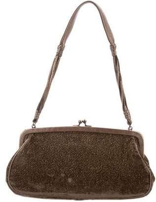 Donald J Pliner Velvet Mini Shoulder Bag