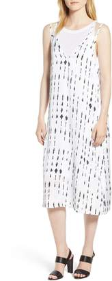 Kenneth Cole New York Kenneth Cole Two-Layer Tank Dress