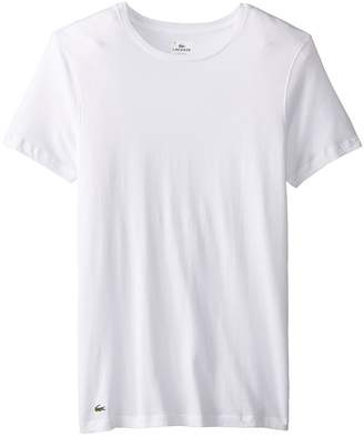 Lacoste Essentials 3-Pack Crew Tee Men's Underwear