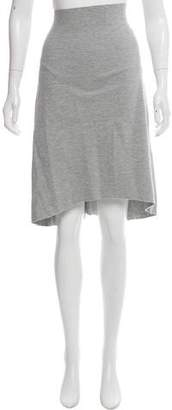 Bassike Knit Knee-Length Skirt