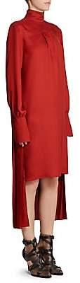 Chloé Women's Pleat Back High Low Dress