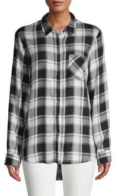 Classic Plaid Button-Down Shirt