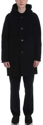 Our Legacy Felt Black Wool Coat