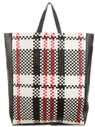 Celine Woven Cabas Tote