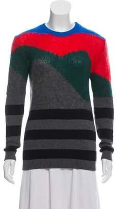 Just Cavalli Wool-Blend Long Sleeve Sweater