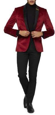 Opposuits Christmas Dinner Jacket Button Blazer