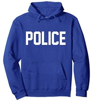 Police Hooded Sweatshirt for Police Officer Costume