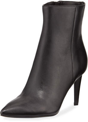 KENDALL + KYLIE Zoe Leather Pointed-Toe Booties