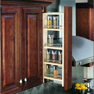 "Rev-A-Shelf 3"" Wall Filler Pullout (36"" H), Natural"