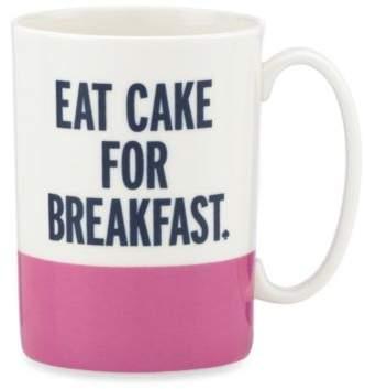"kate spade new york Things We LoveTM ""Eat Cake for Breakfast"" Mug"