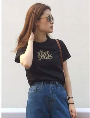 dazzlin (ダズリン) - ダズリン BlurロゴTシャツ