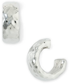 Simon Sebbag Small Hammered Hoop Earrings