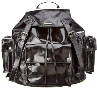 Saint Laurent Noe Leather Backpack