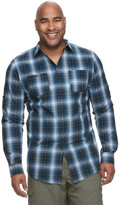 Big & Tall Urban Pipeline Awesomely Soft Regular-Fit Plaid Flannel Button-Down Shirt