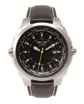 Aviator (アビアートル) - Aviatorメンズ用World Time Watch