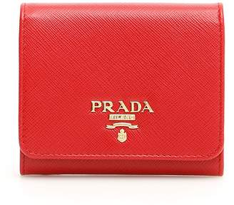 7e117f7c0364 Prada Saffiano Wallet - ShopStyle