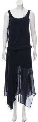 Christian Wijnants Sleeveless Silk Midi Dress
