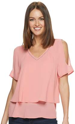 Juicy Couture Women's Double Layer Top
