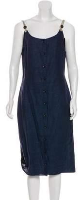 Altuzarra Linen Midi Dress