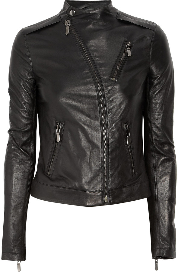 J Brand Benatar leather jacket